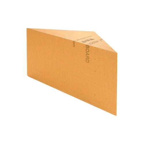 "Schluter KBSB610TA - KERDI-BOARD-SB - Triangular - Shower Bench - 24"" W x 24"" D x 20"" H Image"