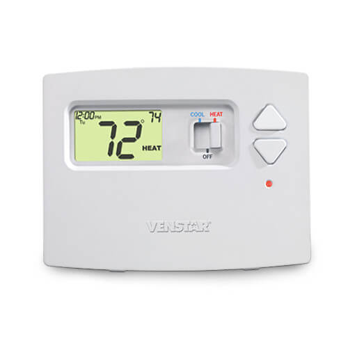Venstar T0130 Non-Programmable Digital Thermostat Image
