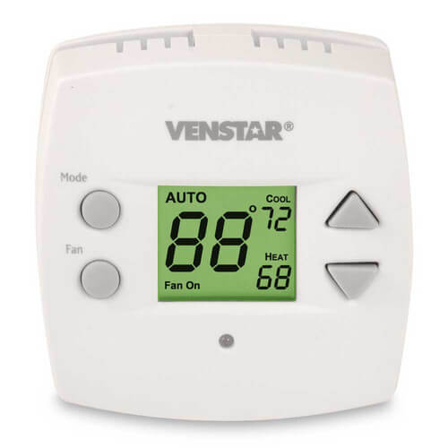 Venstar T1010 - Single Day Programmable Digital Thermostat (VST1010) Image