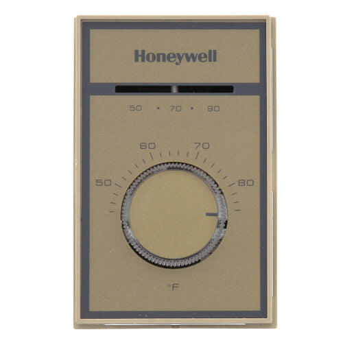 Honeywell T651A3018 - Medium Duty Line Voltage Thermostat, 44-86F