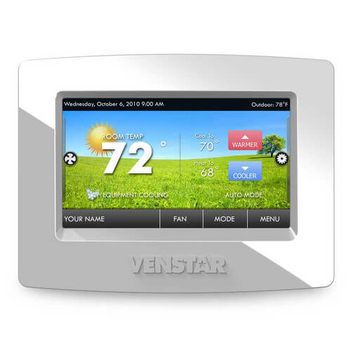 Venstar T7850 - Colortouch 7 Day Programmable Thermostat with Built in Wifi (Replaces T5900 and Acc0454) Image