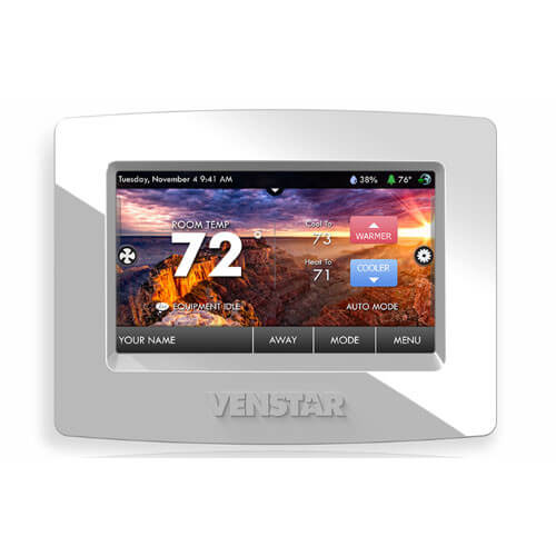 Venstar T7800 ColorTouch Thermostat Image