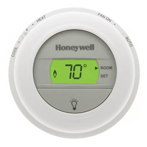 Honeywell T8775C1005 - Round Non-Programmable, 1H/1C, Digital Thermostat Image