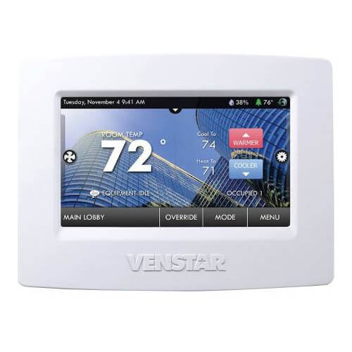 Venstar T8800 - ColorTouch Commercial Thermostat Image