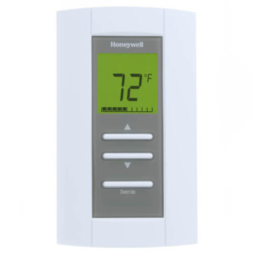 Honeywell TB6980A1007 Non-programmable Floating Control Digital Zone Pro Thermostat With Auto Changeover