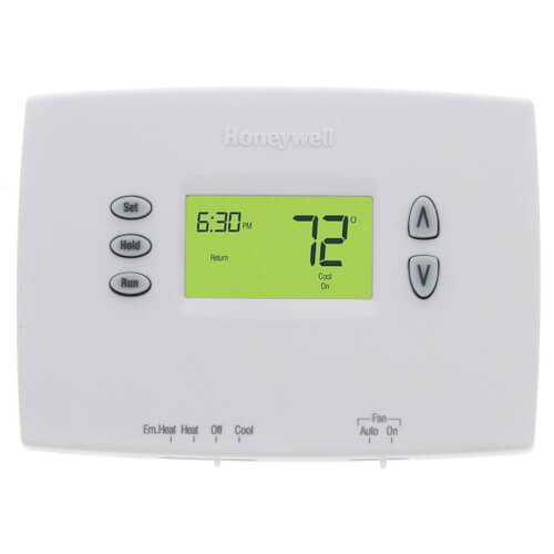 Honeywell TH2210DH1000 PRO 2000 Horizontal Programmable Thermostats