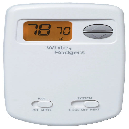 White-Rodgers 1E78-144 - 70 Series 1H/1C Room Thermostat Image