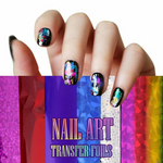 HOT SALE-Nail Art Transfer Foils (Set of 12)