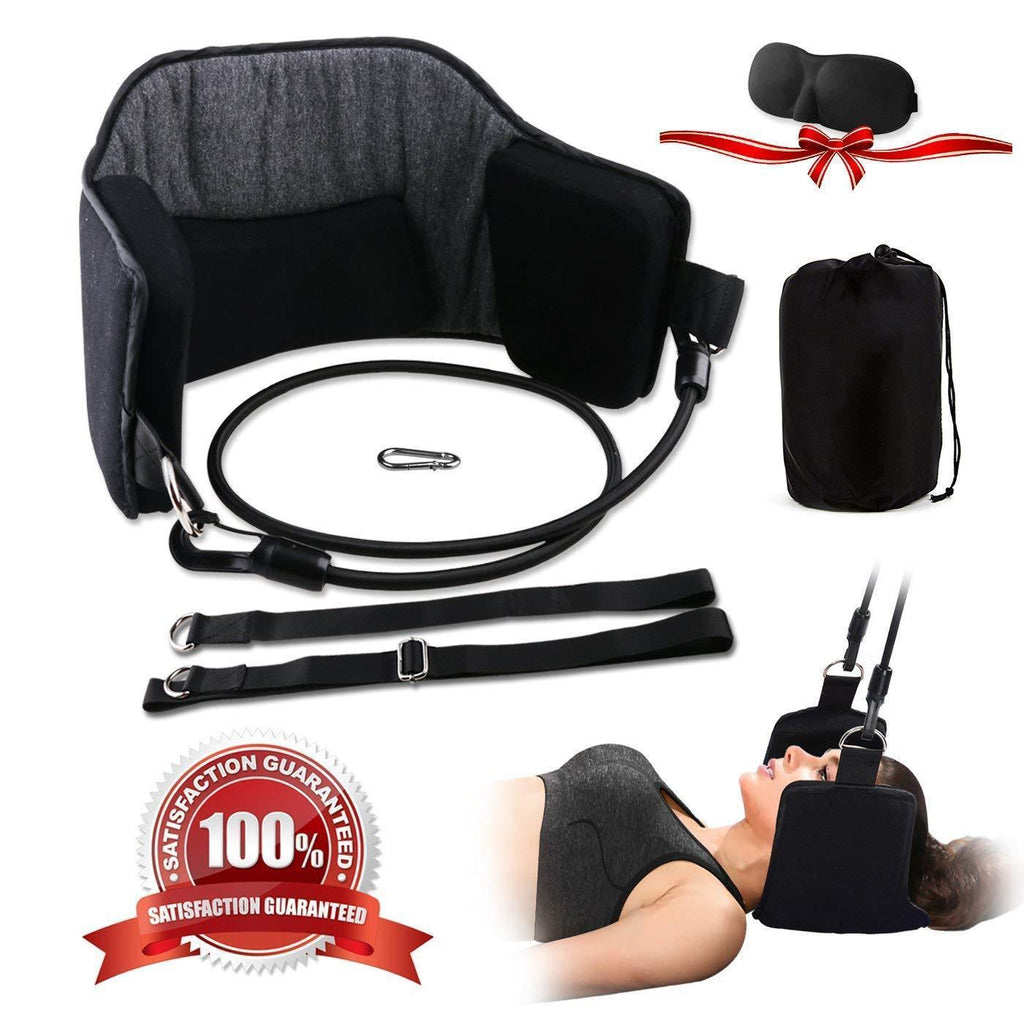 LIMITED SALES-Portable Cervical Traction and Relaxation Device - yanczi