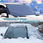 LIMITED SALES Magnetic Full Protection Windshield Cover+Mirror Covers