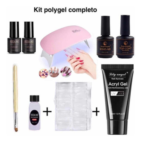 Kit Poly Gel Uñas