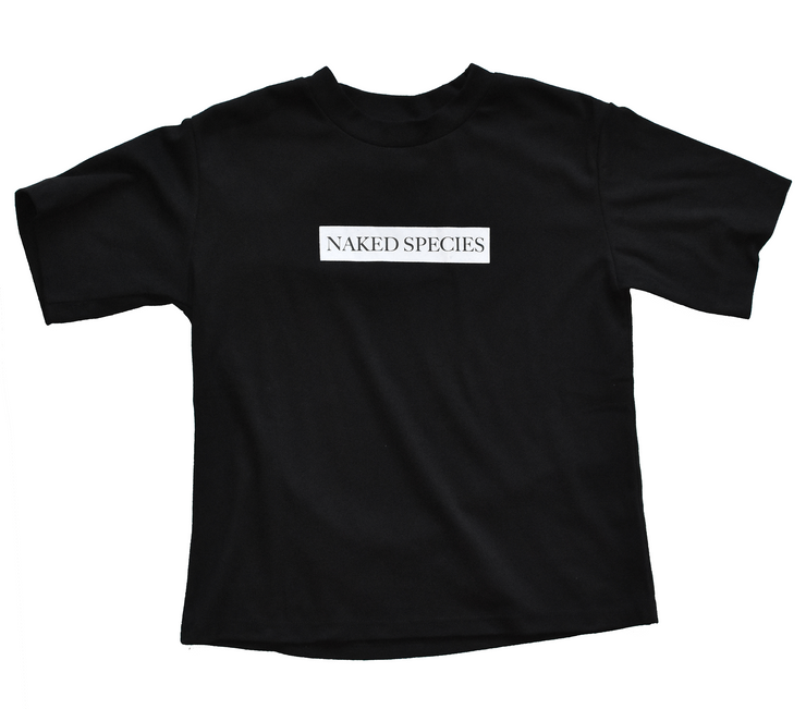 Butter Soft Logo Tee in Black