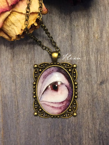 Purple horror necklace