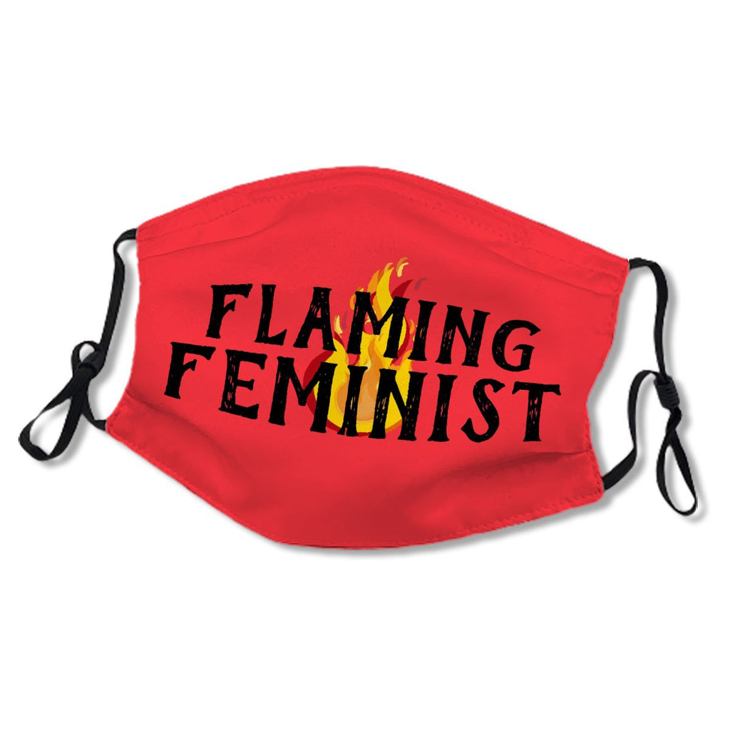 Flaming Feminist RBG Feminism Flames 20 No.6UPFLH