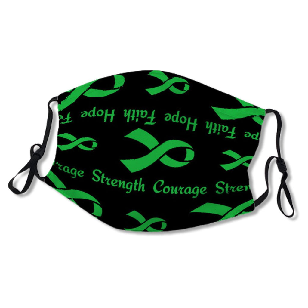 Green Hope Faith Strength Courage...Celiac Cloth NO. C7CWIT