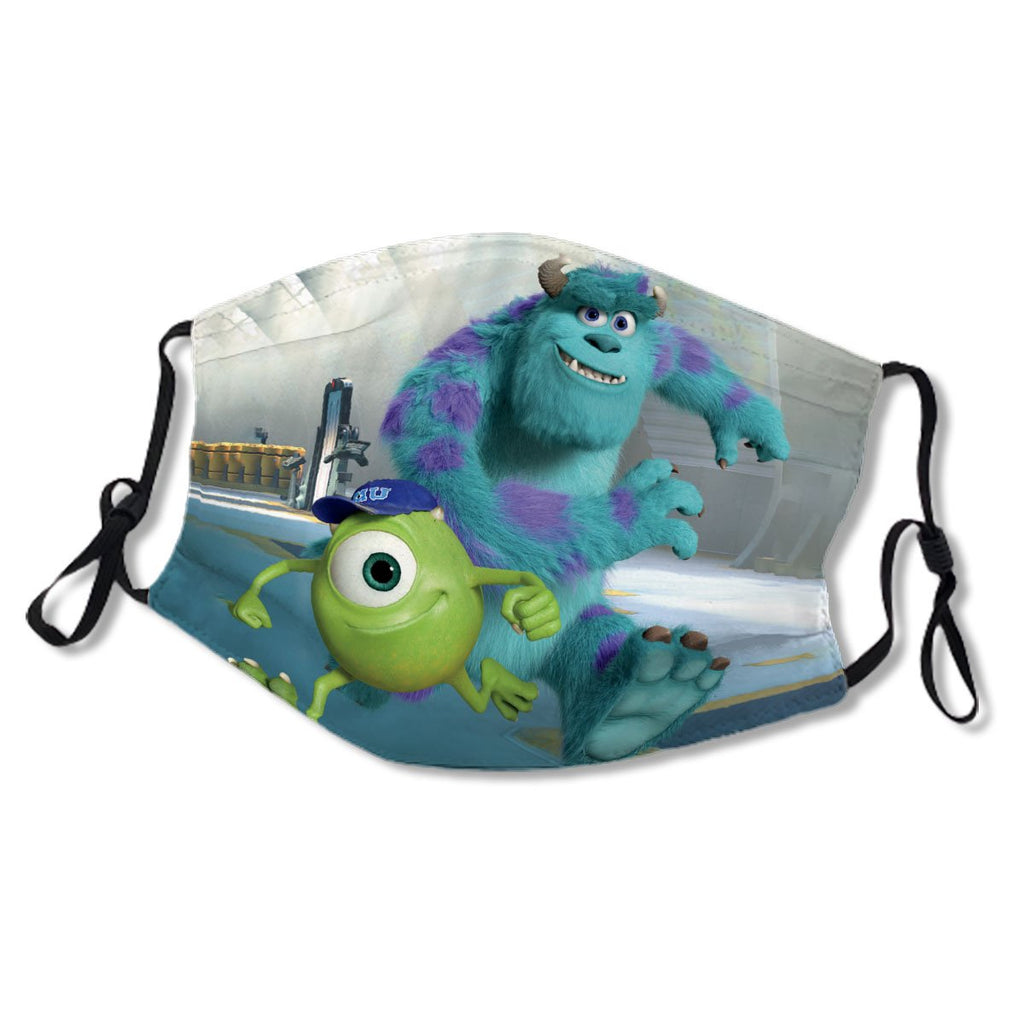 D Pixar Monsters Movie No.F23D8V