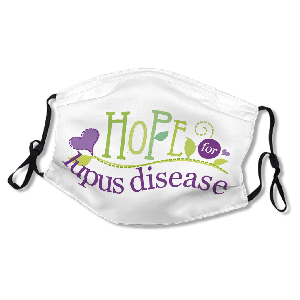 Lupus Disease Awareness Hope White Cotton NO. KK4X8R