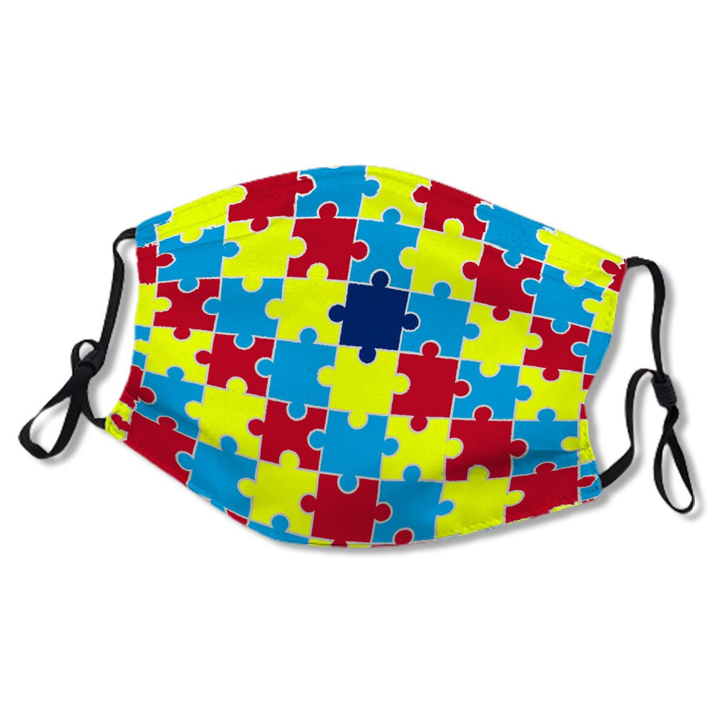 Autism Awareness Puzzle Pattern No.KT6DCW