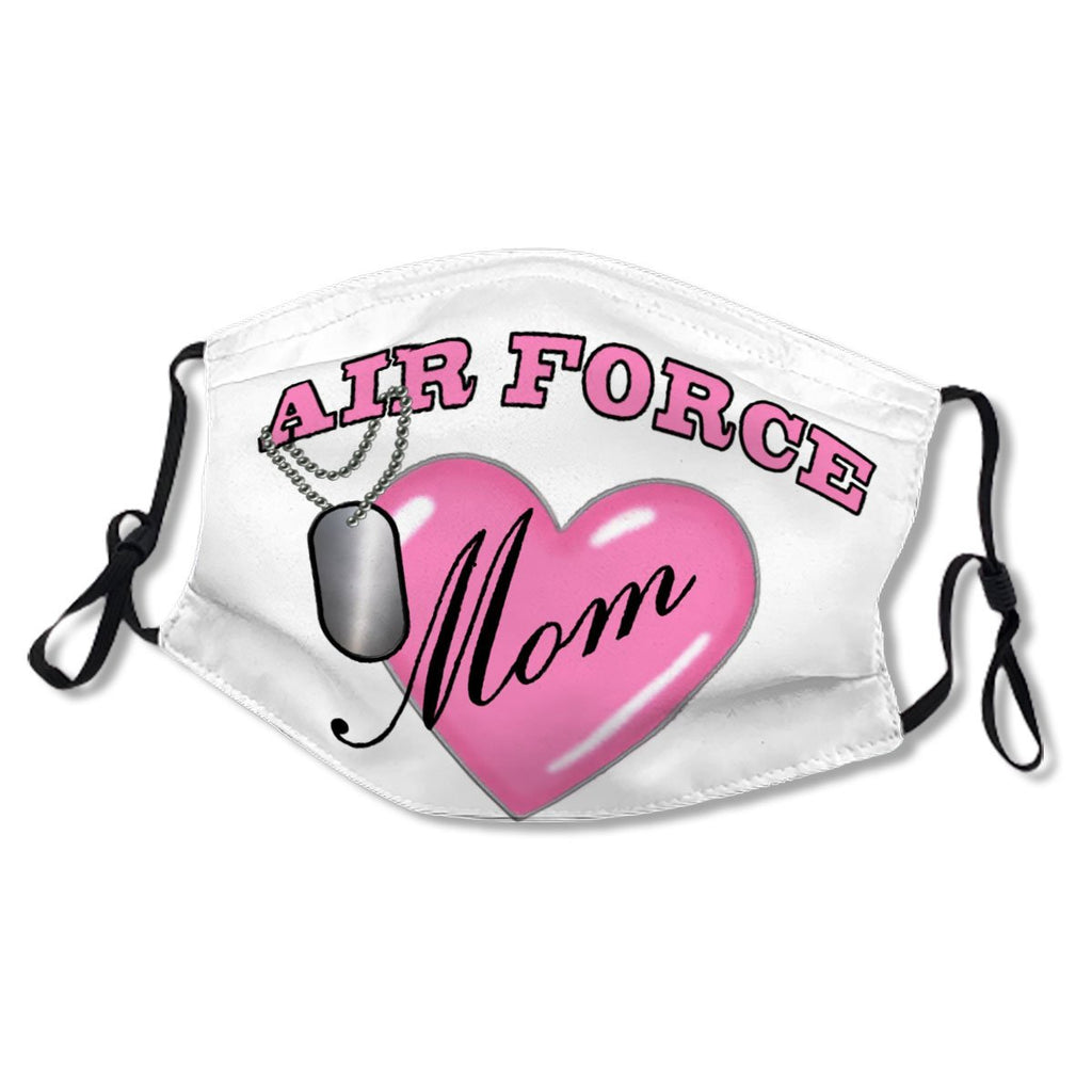 Air Force Mom Heart N Dog Tag No.ODEO55