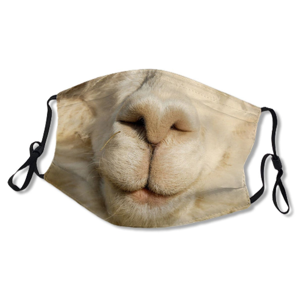 Funny Cute Alpaca Animal Snout No.RG29U4