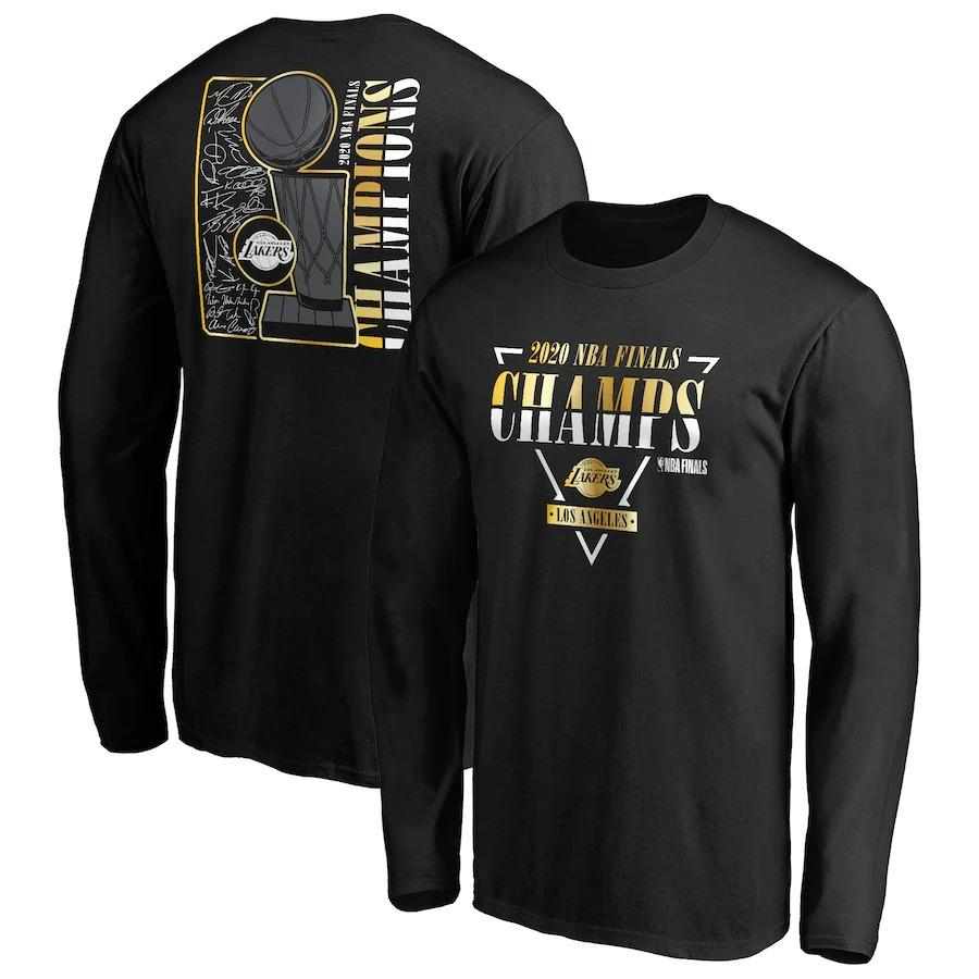 2020 Finals Champions Long sleeve T-shirt B001