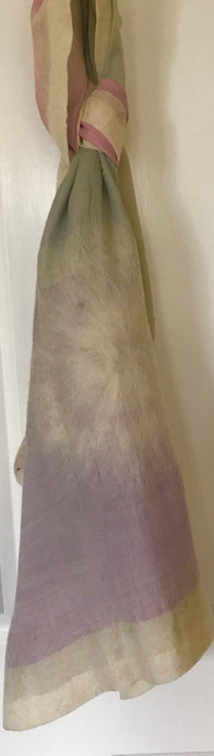 Limited Edition Silk, Felt & Cotton Combination Scarf/Shoulder scarf #4