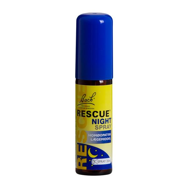 Bach Rescue Night Spray, 20 ml