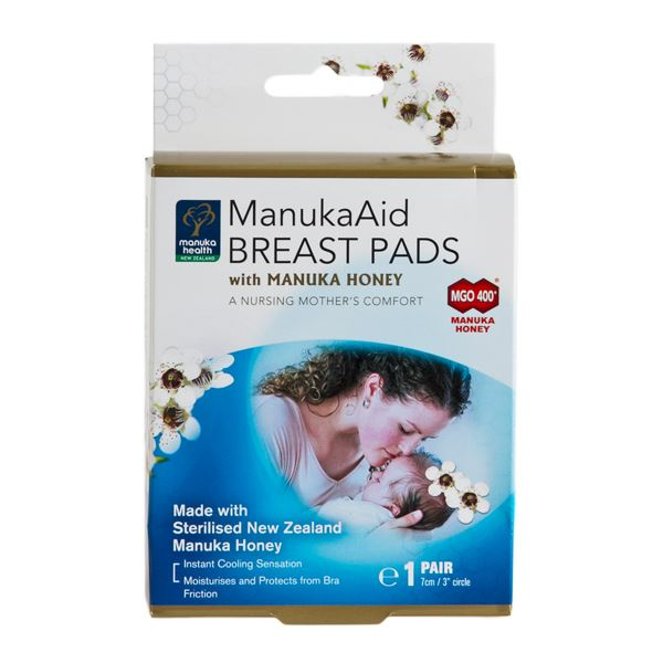 ManukaAid - breast pads, 1 par