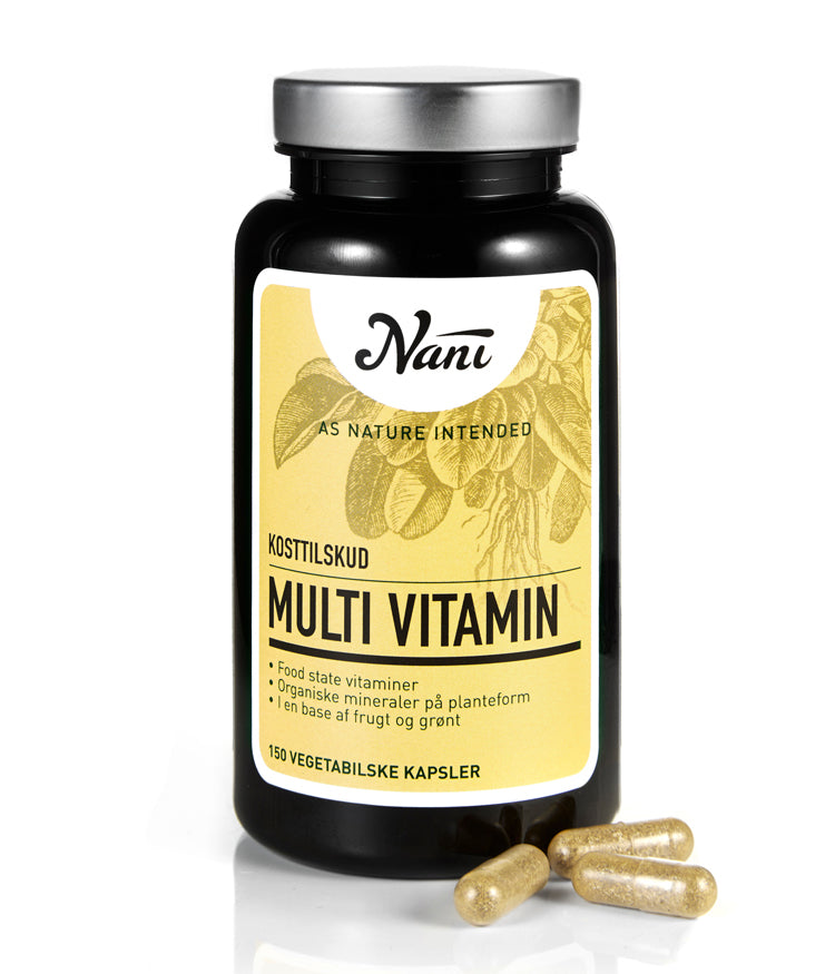 NANI, Food State Multivitamin 150 kapsler