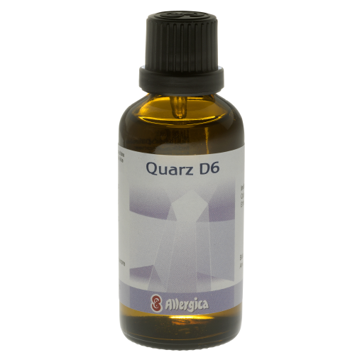 Allergica - Quarz D6 - Cellesalt 11, dråber, 50 ml
