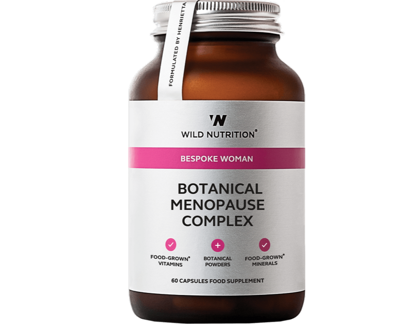 Wild Nutrition, Food Grown, Bespoke Woman - Botanical Menopause Complex