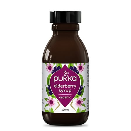 Pukka elderberry sirup 100 ml