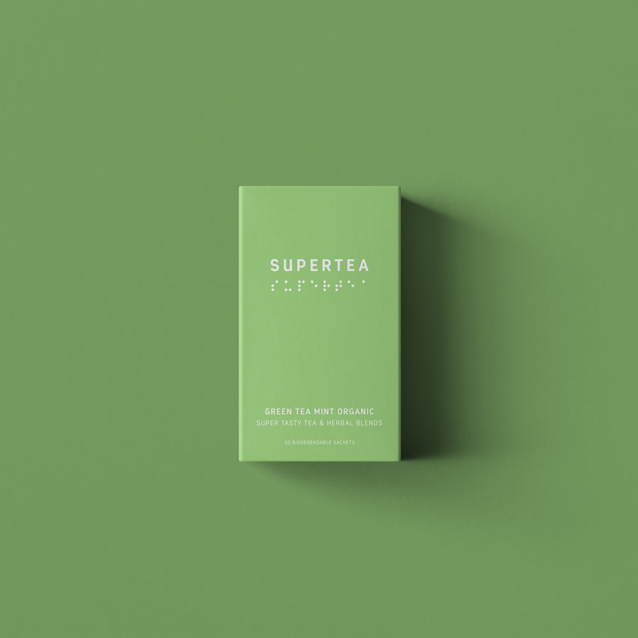 supertea green tea mint - 20 breve økologisk