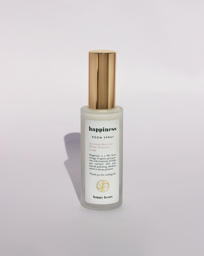 Happy Heart - Room Spray, Happiness - Hara chakraet, 30 ml
