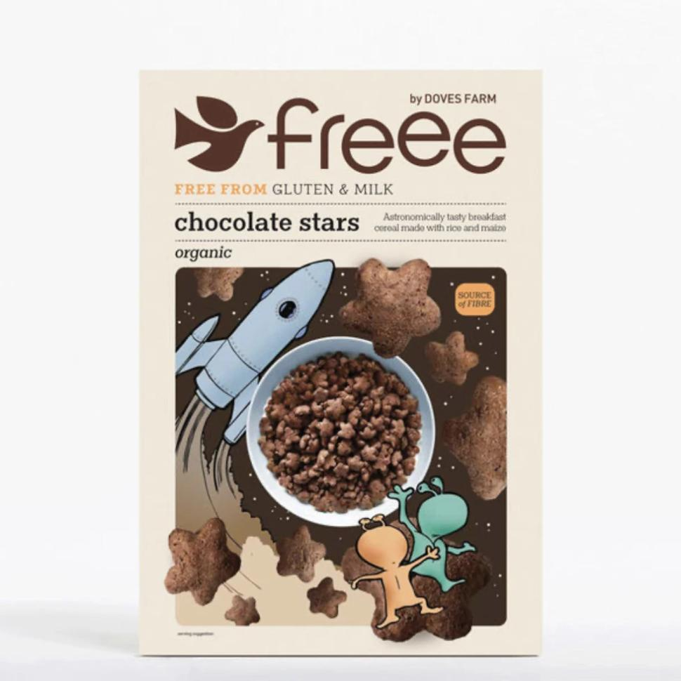 Doves Farm - Chocolate Stars - 300g