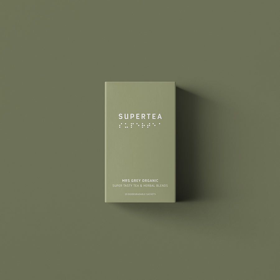 supertea mrs. grey - 20 breve økologisk