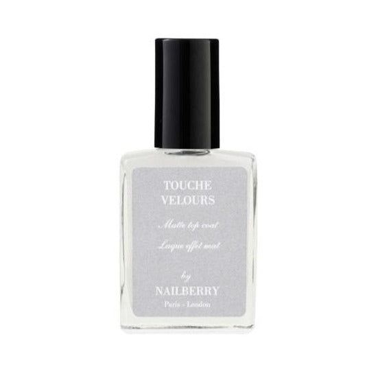 NAILBERRY - Touche Velour, Mat topcoat, 15 ml