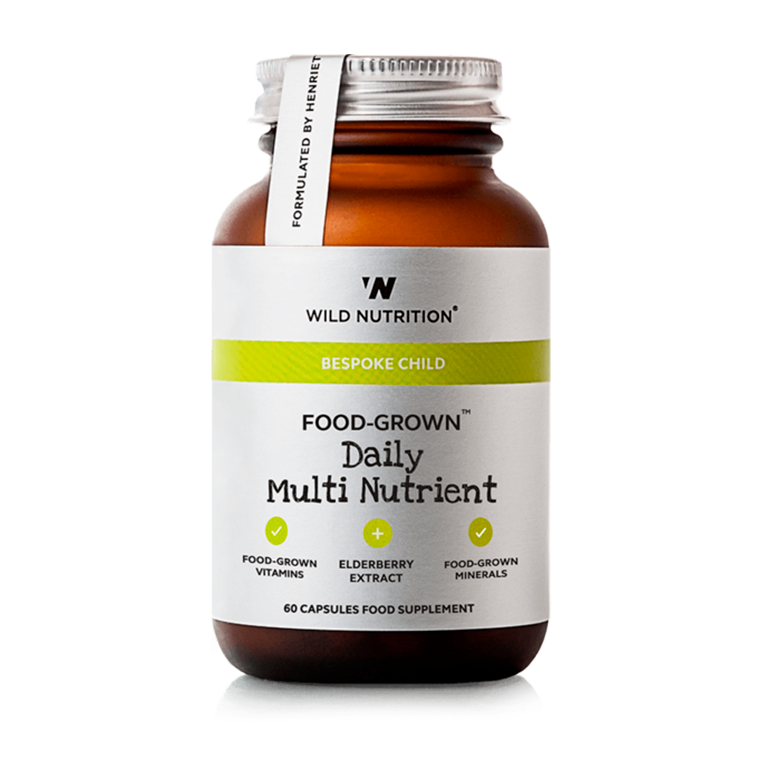 Wild Nutrition, Food Grown, Multivitamin fra 0 år