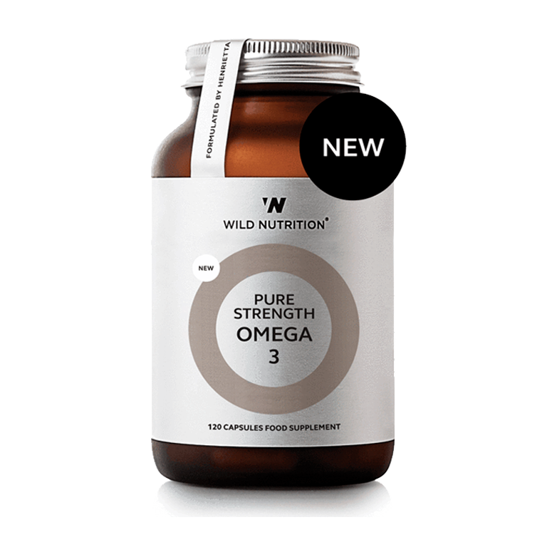 Wild Nutrition, Food Grown, Omega 3