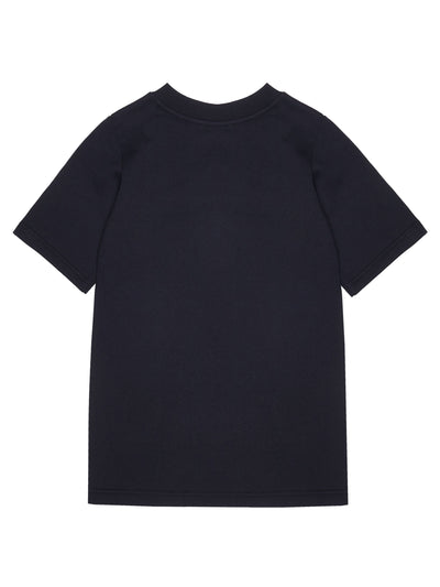 Playground Longline Sweater-T Black - KIDD-IN
