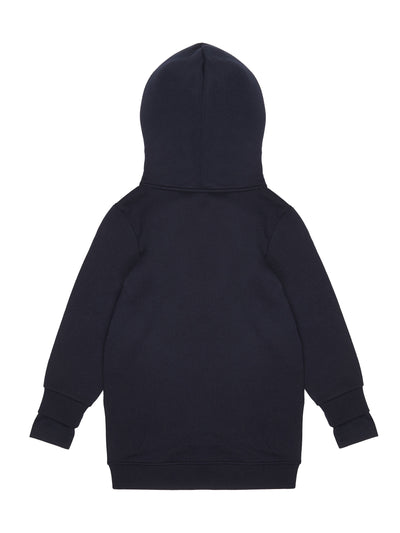 Swing Double Sleeve Hoodie Black - KIDD-IN
