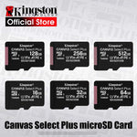 Kingston Micro SD Card Memory Card Class10 carte sd memoria 128GB 32GB 64GB 256GB 16G SD/TF Flash Card 8G 512G microSD for Phone