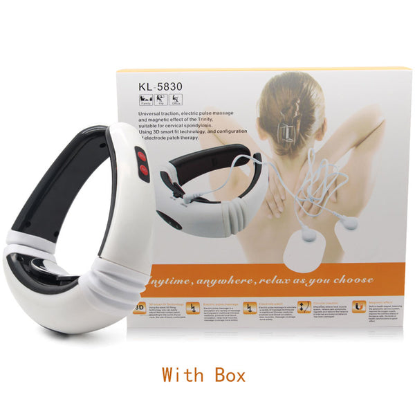 Smart Electric Neck and Shoulder Massager Low Frequency Heating Pain Relief Tool Health Care Relax Health Tool Relaxation