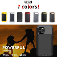 Heavy Duty Metal Aluminum Phone Case for iPhone 6 6S 2020 Doom Armor Shockproof Case Cover