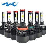 NAO H7 led Headlights H4 LED Bulb Car H11 H9 H1 H3 HB4 HB3 9005 9006 H8 H27 9004 H13 881 880 72W 8000LM 12V light White 6000K K1