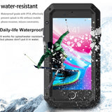 Heavy Duty Metal Aluminum Phone Case for iPhone 5 2020 Doom Armor Shockproof Case Cover