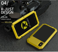 Heavy Duty Metal Aluminum Phone Case for iPhone 11Pro Max 2020 Doom Armor Shockproof Case Cover