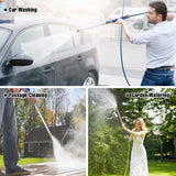 Meijuner Car High Pressure Water Gun 46cm Jet Garden Washer Hose Wand Nozzle Sprayer Watering Spray Sprinkler Cleaning Tool