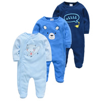 5pcs Sleepers Baby Pyjamas Newborn Girl Boy Pijamas bebe fille Cotton Breathable Soft ropa bebe Newborn Sleepers Baby Pjiamas