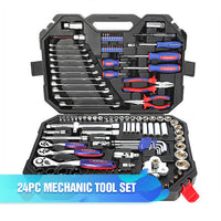 WORKPRO Tool Set Hand Tools for Car Repair Ratchet Spanner Wrench  Socket Set Professional Bicycle Car Repair Tool Kits